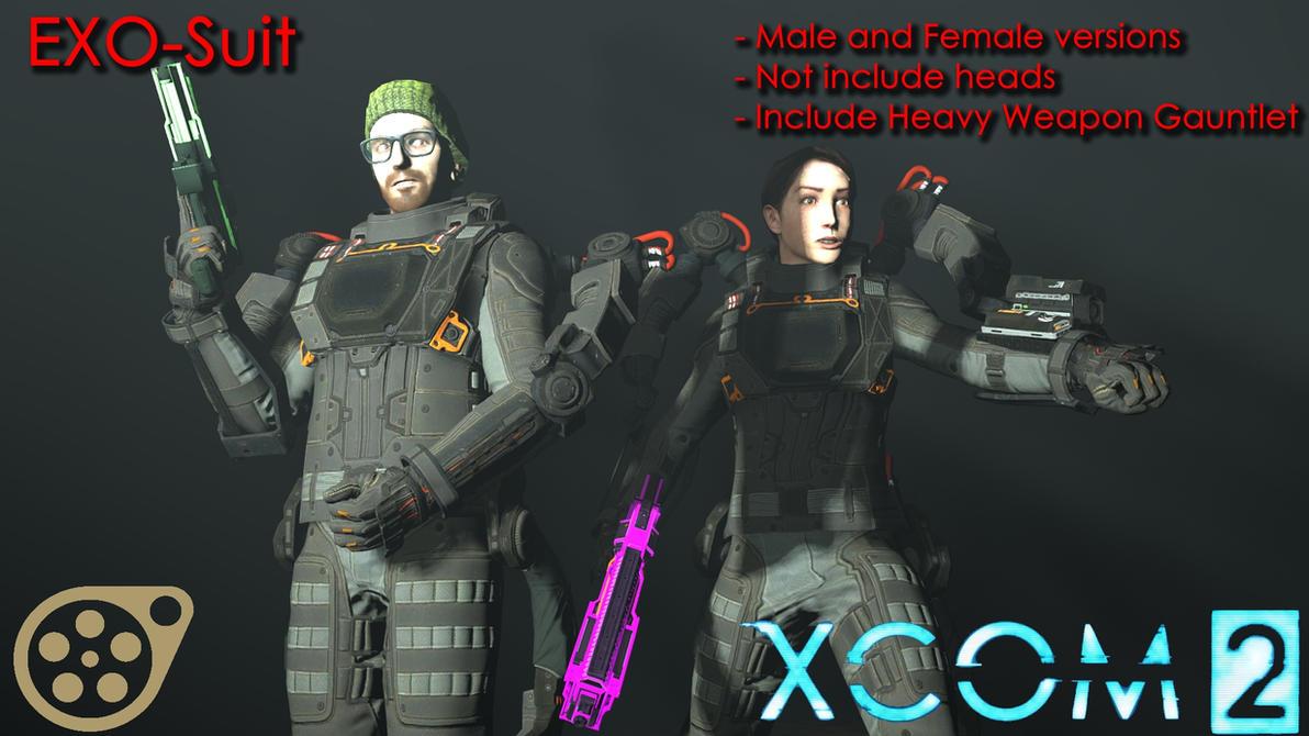 dl sfm exo suit xcom 2 by falloutshararam on deviantart. Black Bedroom Furniture Sets. Home Design Ideas