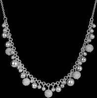 Beautiful Silver Necklace PSD by Anavrin2010