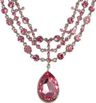 Beautiful Pink Necklace PSD
