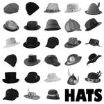 28 Hats PS Brushes Set 1
