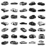 36 Cars PS Brushes