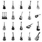 20 Guitar PS Brushes
