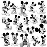 18 Mickey Mouse PS Brushes