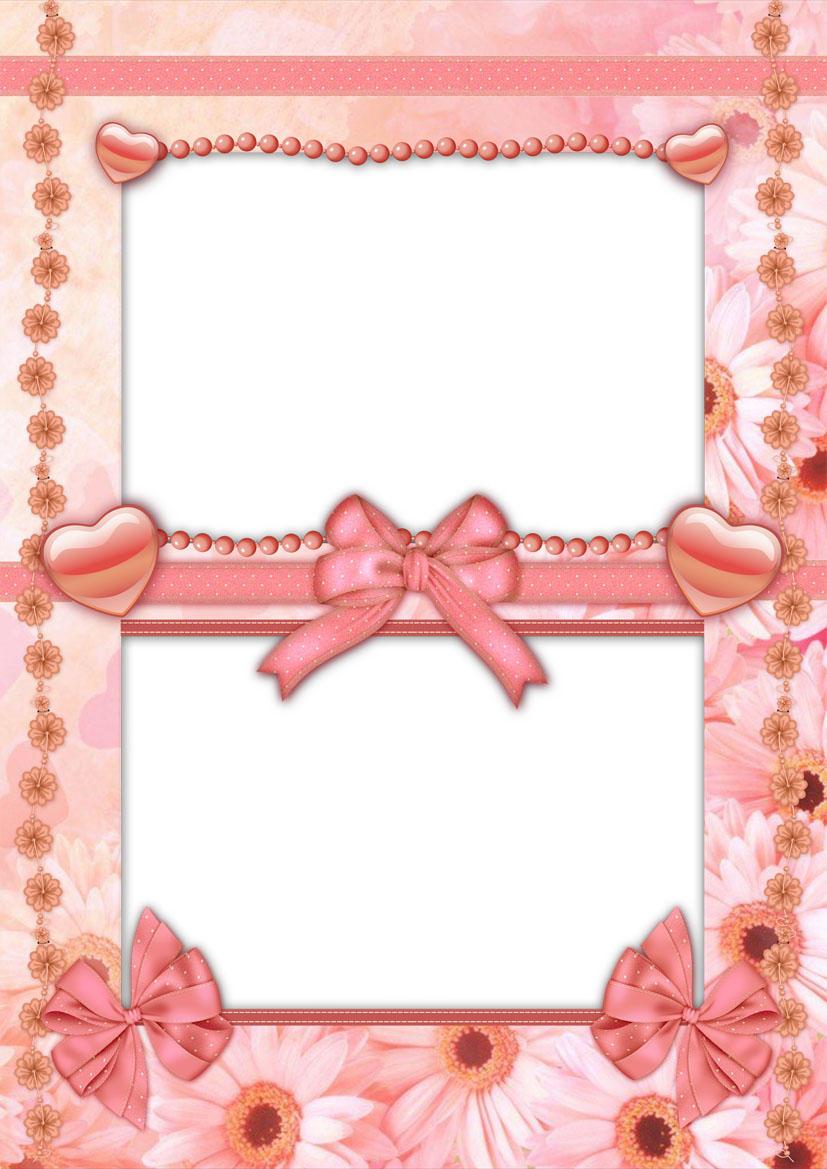 Pretty Peach Design Frame Psd By Anavrin2010 On Deviantart