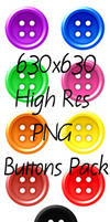PNG Buttons Pack