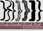 Curly Brackets - Brush Pack
