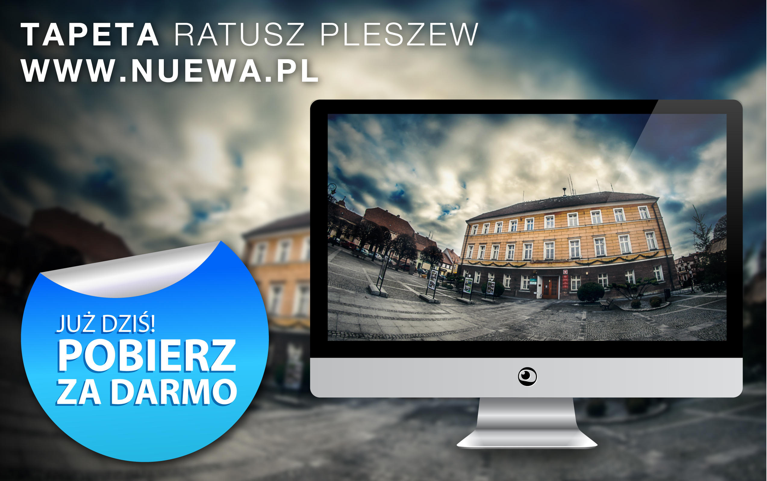 City hall Pleszew Wallpaper by nuewa