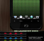 GO Launcher dock android