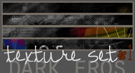 Grunge Texture Set 1 by delusionalmind