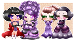 StrawberryDani - Period Girls (Victorian Rococo OC by TheQuelch