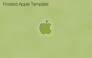 Frosted Apple Template