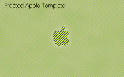 Frosted Apple Template by Stratification