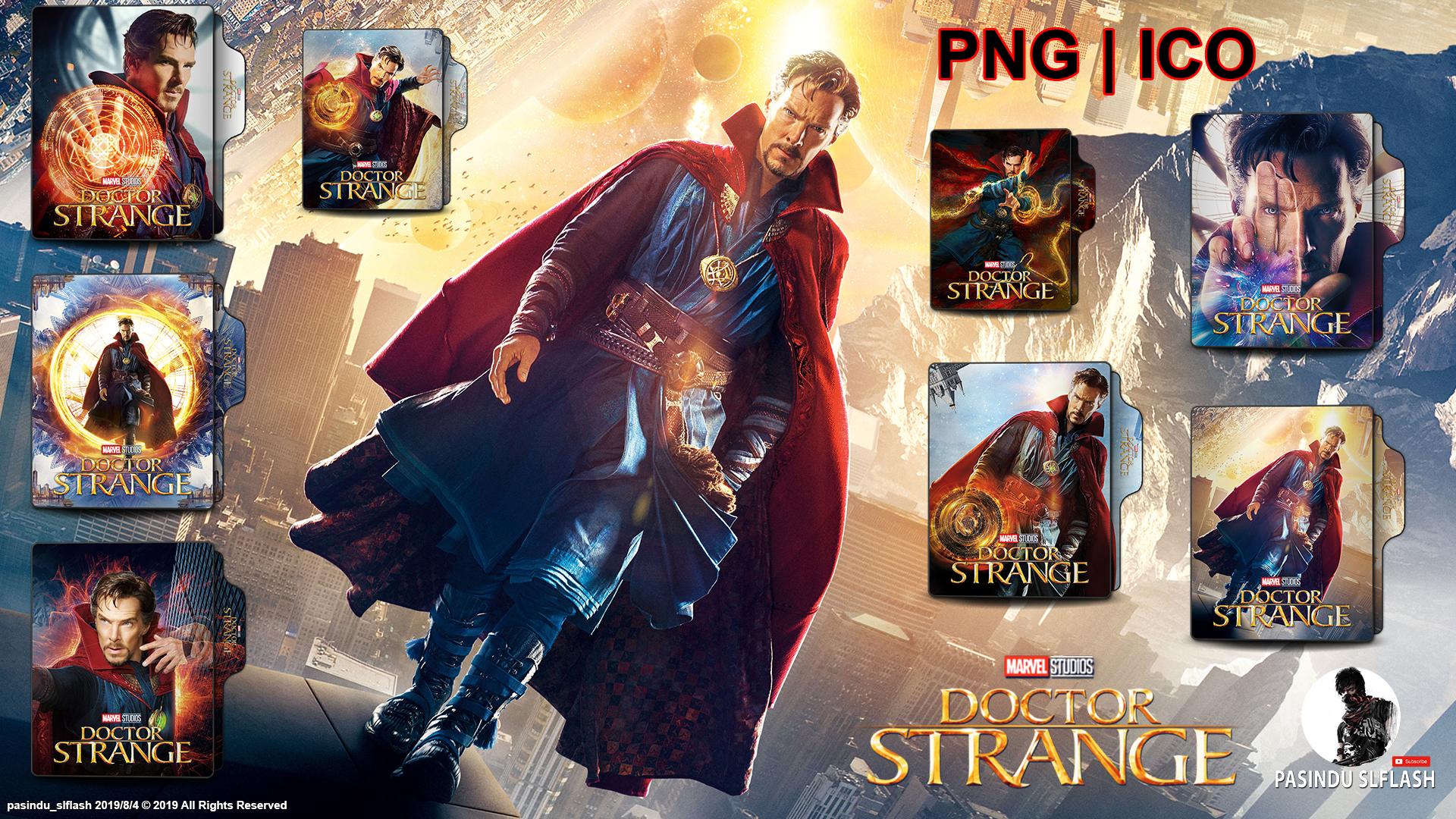 Doctor Strange 2016 Folder Icon Pack By Pasinduslflash On Deviantart