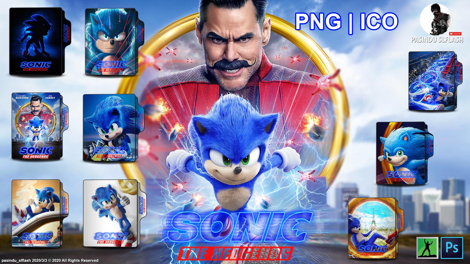 Sonic The Hedgehog 2020 Folder Icons By Pasinduslflash On Deviantart