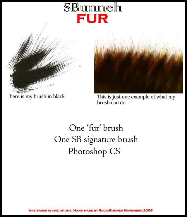 Fur Brush by AnotherJamesDean