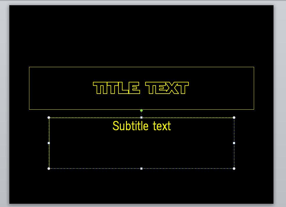 Star Wars Powerpoint Template Update In Desc By