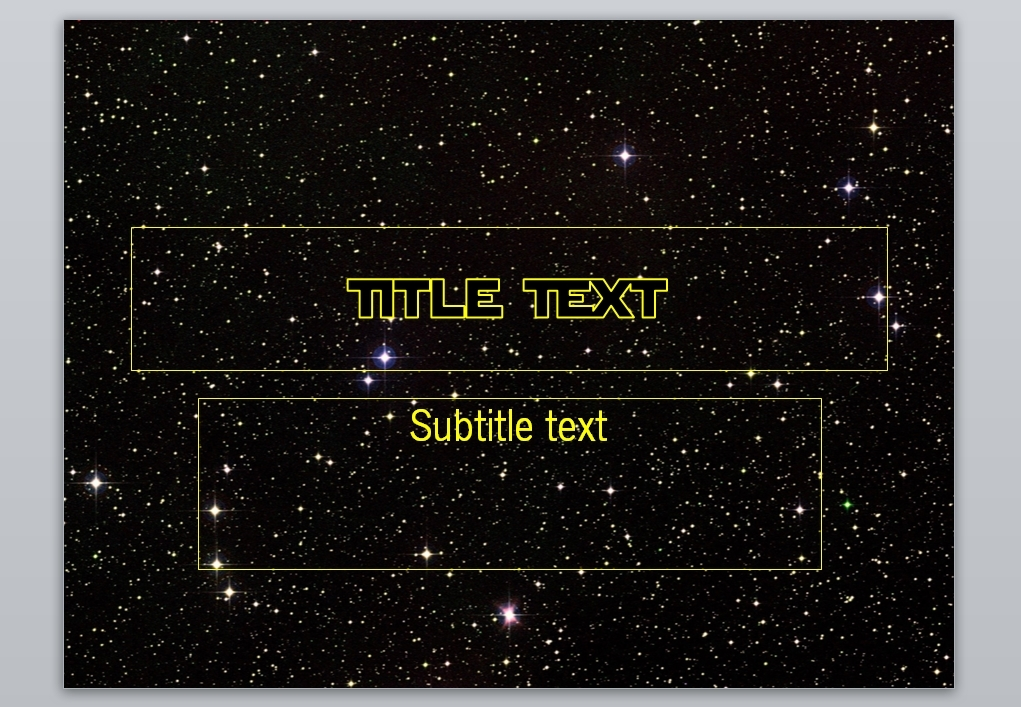 star wars powerpoint template  updated  by xuro2dalusovee