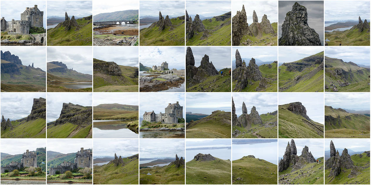 Matte Painting Resouces - Scotland 2 by juhone