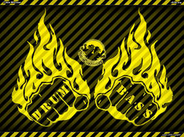 Drum and Bass Fists by ydeviant