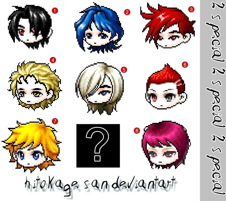 free icon's set by hitokage-san
