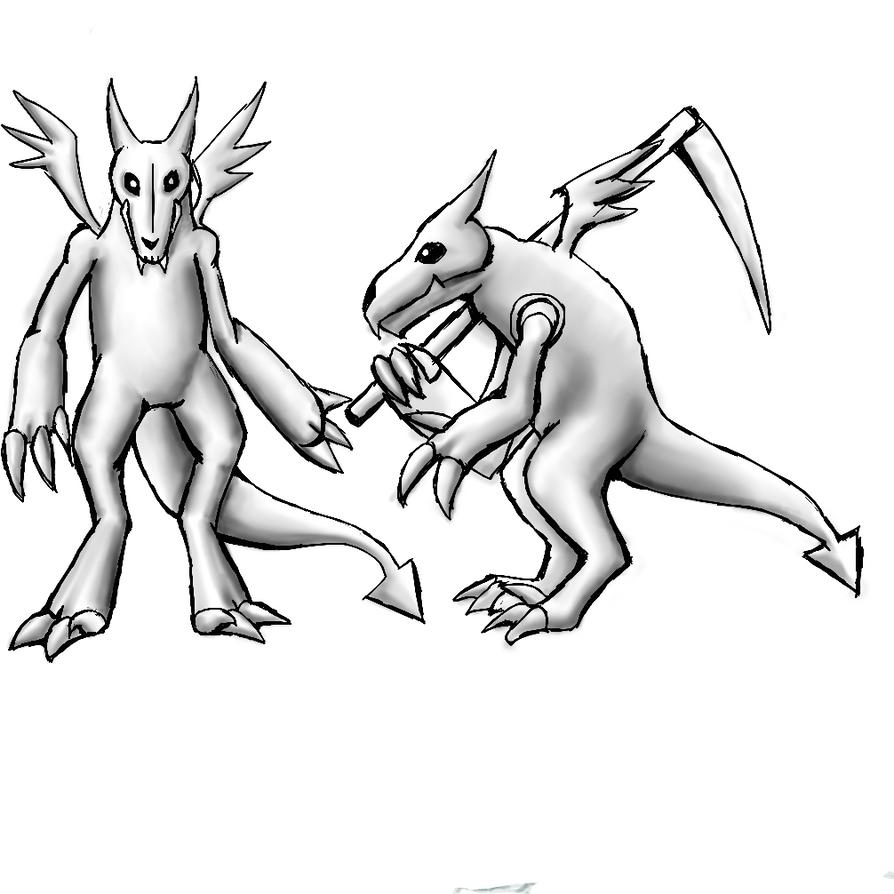 Imp sketch by Tefian