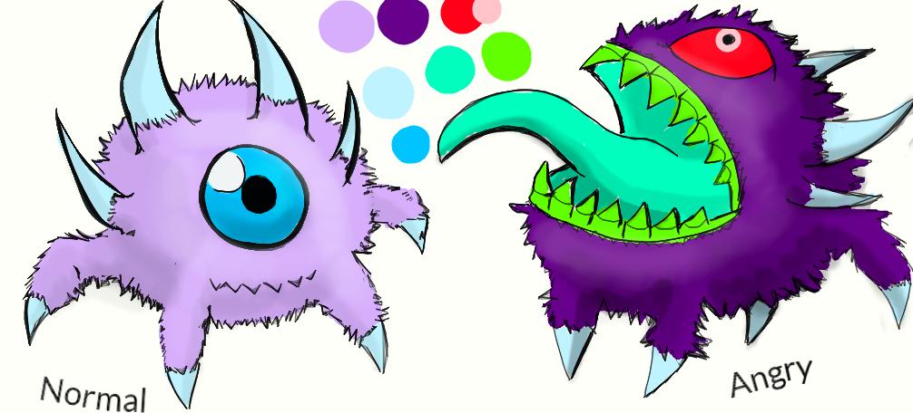 monster design 1 by Tefian