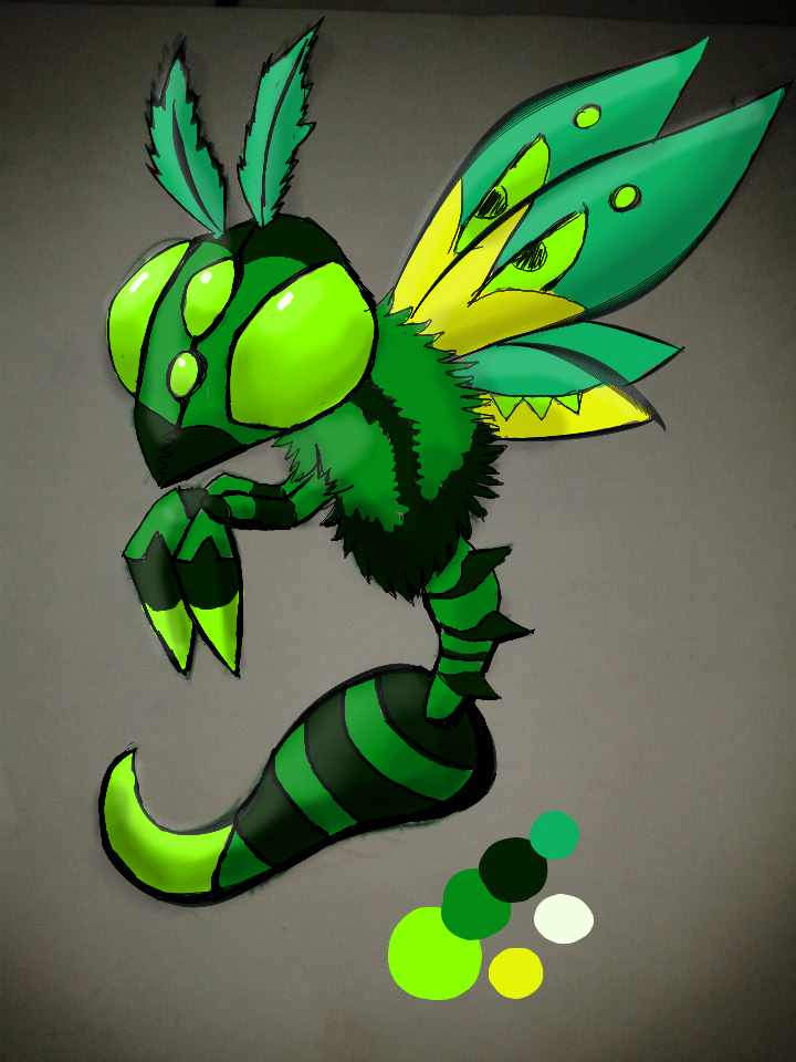 monster design 2 by Tefian