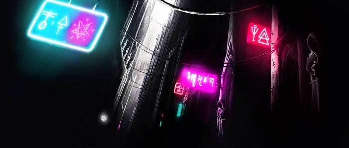 Dark Alley Gif