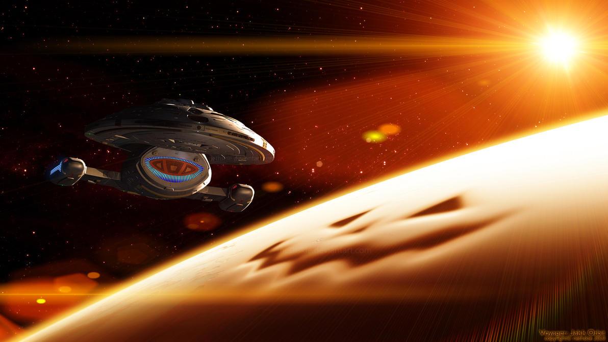 Voyager: Jakk Orbit by nethskie