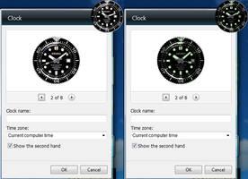 Seiko Marinemaster 300M Diver Clock Gadget Skin