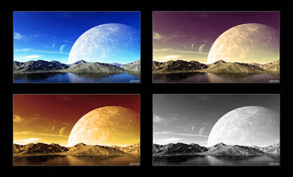 Satellite Parallelism 1080p Walpaper Pack