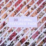 30 Floral Textures
