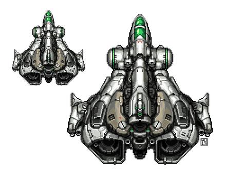 Pixel Spaceship