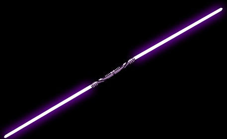 Weapons Of Revan Double Bladed Lightsaber By