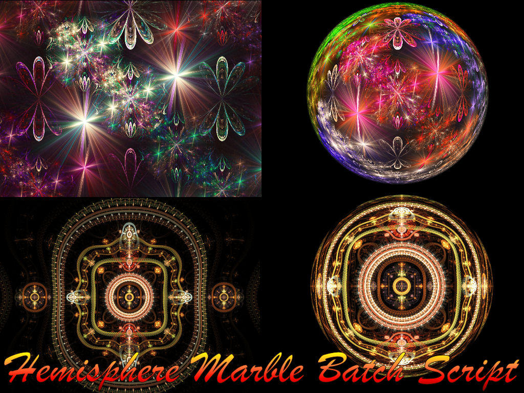 Hemisphere-Marble Scripts by FracFx