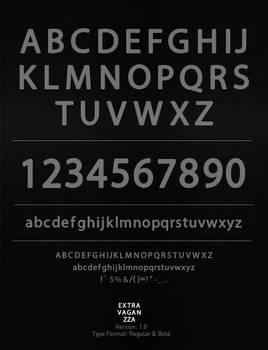 Extravaganzza font