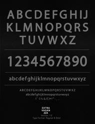 Extravaganzza font by Inquietto