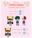 Pixel Doll Commission Info by spacestarphish