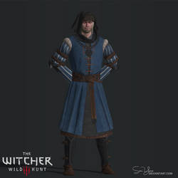 The Witcher 3 - Vernon Roche (XPS)