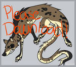 Free PSD SAI and PAINT Weasel lineart