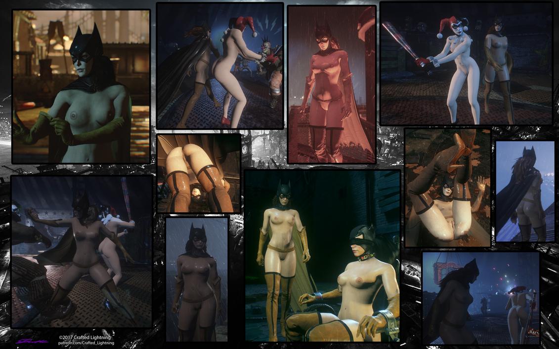 Mod-BAK-Nude Batgirl by CraftedLightning