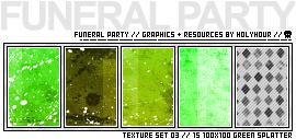 100x100 Textures: Splatter by holyhour