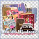 PNG PACK 07 - BOOKS