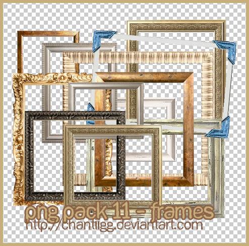 Png pack 11 frames by chantiigg on deviantart for Frame per foto