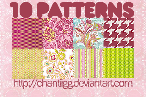 Pattern pack 1 by ChantiiGG