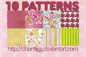 Pattern pack 1 by ChantiiGG