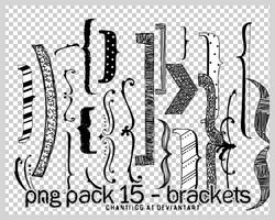 PNG PACK 16 - BRACKETS