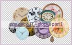 PNG PACK 17 - CLOCKS PART 1
