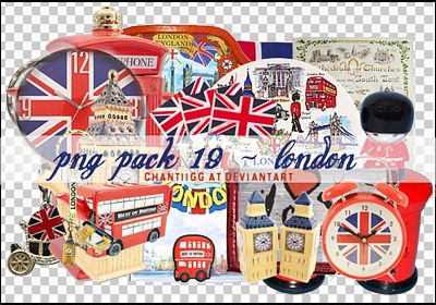 PNG PACK 19 - LONDON