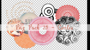 PNG PACK 25 - CIRCLES